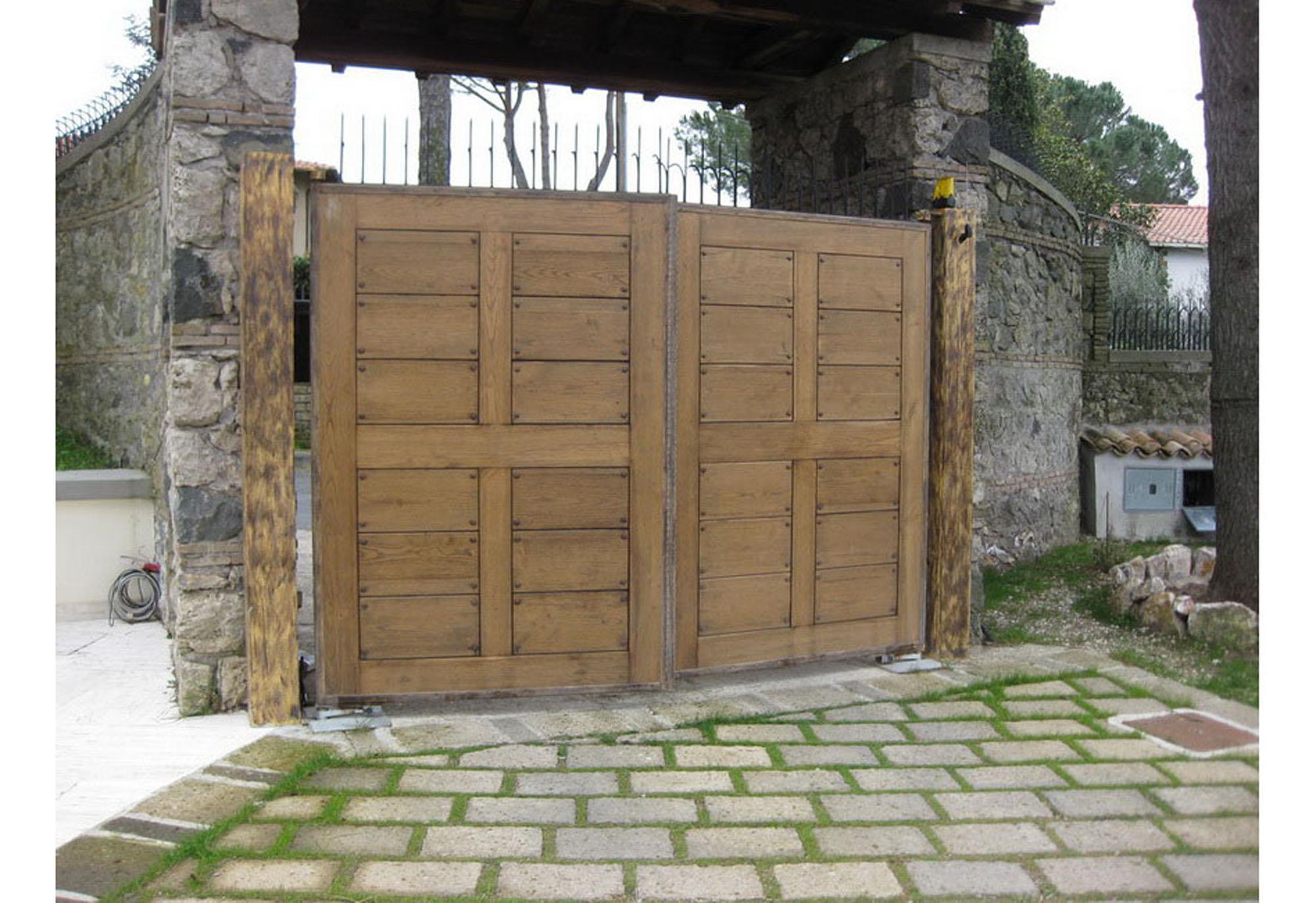 Best descrizione progetto cancello ingresso with cancelli - Cancello porta ingresso ...